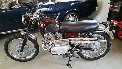 1967 Honda 305 Scrambler Motorcycles for sale