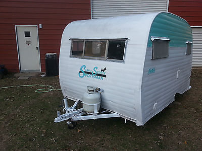 1968 VINTAGE SERRO SCOTTY TRAVEL TRAILER