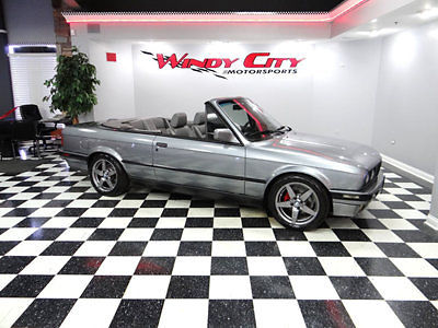 BMW : 3-Series 325iC 1992 bmw 325 ic e 30 convertible heated leather custom wheels tasteful upgrades