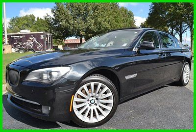 BMW : 7-Series Li xDrive 2 OWNER CLEAN CARFAX WE FINANCE! 4.4 l turbo cold weather luxury seating 19 wheels premium sound back up camera