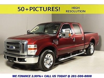 Ford : F-250 2009 F-250 LARIAT DIESEL CREW CAB REARCAM SHORTBED 2009 ford f 250 super duty lariat crew cab rearcam heat seats leather wood