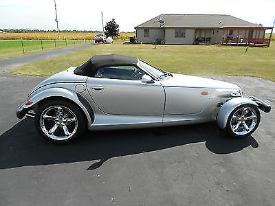 Plymouth : Prowler Base Convertible 2-Door 2000 super silver plymouth prowler base convertible 2 door clean hard to find