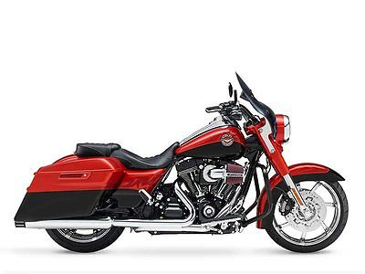 Harley-Davidson : Touring 2014 harley davidson road king cvo screaming eagle factory custom 4000 km