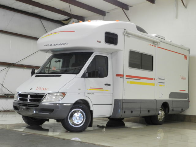 Dodge Sprinter RV CAMPER DODGE SPRINTER 3500 WINNEBAGO VIEW CONVERSION VAN 39K MILES