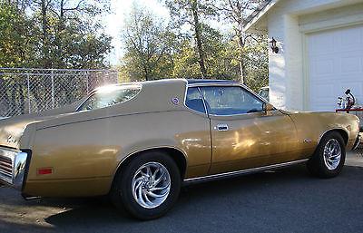 Mercury : Cougar XR7 1972 mercury cougar x r 7