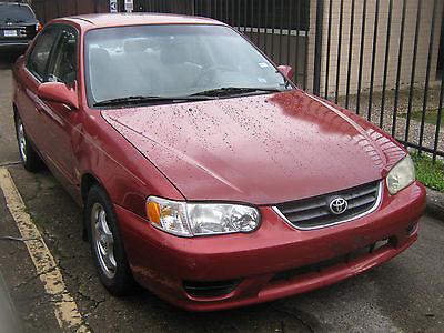 Toyota : Corolla LE Sedan 4-Door 2001 toyota corolla le sedan 4 door 1.8 l