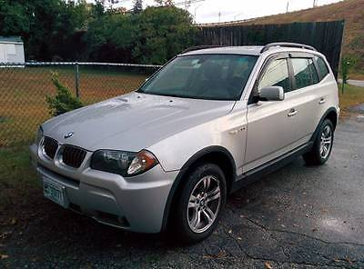 BMW : X3 3.0i Sport Utility 4-Door 2006 bmw x 3 3.0 i sport utility 4 door 3.0 l low miles