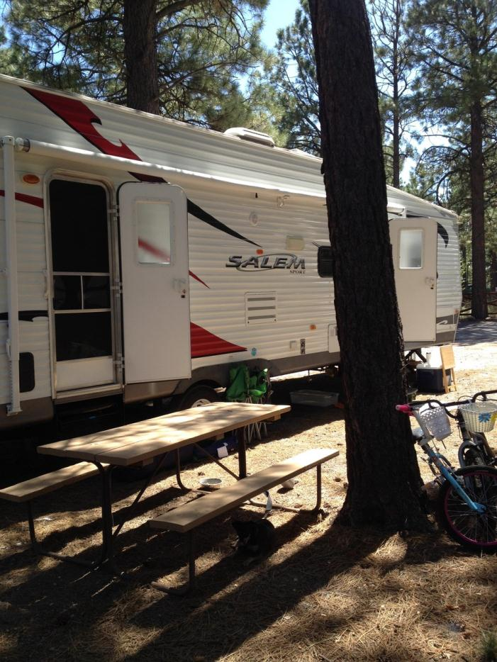Travel Trailer With Onboard Generator For Sale