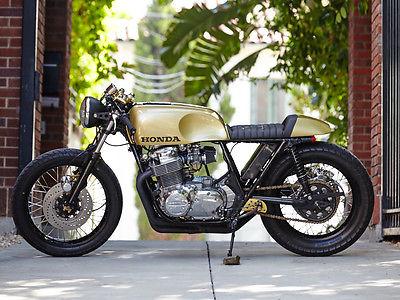 Honda : CB 1976 honda cb 750 f cafe racer