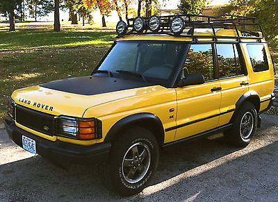 Land Rover : Discovery Series II SE Sport Utility 4-Door Kalahari Edt. 2002 land rover discovery kalahari edition yellow only 150 produced very rare