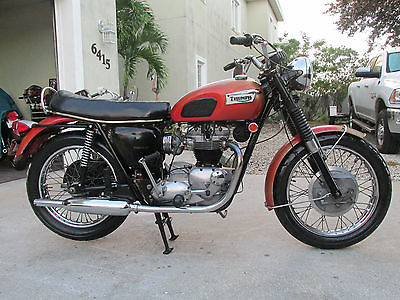 1969 Triumph Tr6r Motorcycles For Sale