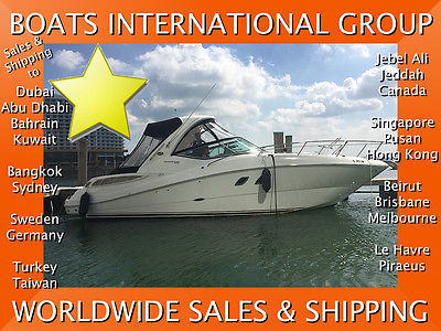 2012 SEA RAY 330 SUNDANCER 229 HRS DTS GENERATOR AC CE We Ship/Export Worldwide