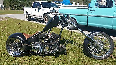 Custom Built Motorcycles : Chopper Custom Carolina Chopper