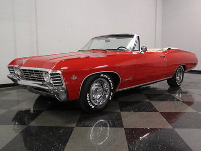 Chevrolet : Impala SS REAL DEAL SS CONVERTIBLE, CORRECT 327CI MOTOR, SEERING RED PAINT, FACTORY A/C