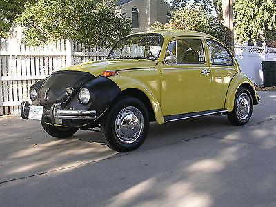 Volkswagen : Beetle - Classic SUPER BEETLE 1971 volkswagen classic super beetle fun fun fun yellow with super nice body