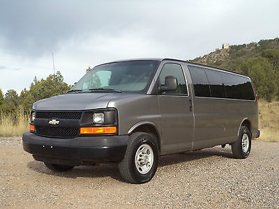 Chevrolet : Express Express 3500 2009 chevrolet express 3500 15 passenger extended van make offer