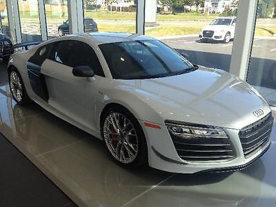 Audi : R8 Le Mans Series Own a piece of Audi R8 history with #4 of 8 Le Mans Series Audi R8 V10