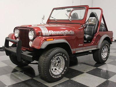 Jeep : CJ 5 RESTORED CJ5, AMC 304 V8, 4-SPEED, SLIGHT LIFT, SUPER CLEAN, DRIVE IT ANYWHERE!!