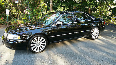 Audi : S8 4.2 2001 audi s 8 with all available options