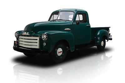 GMC : Other 100 Pickup Frame Off Restored Narva Green 100 1/2 Ton Pickup 228 Inline 6 3 Speed Manual