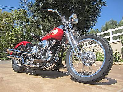 Harley-Davidson : Other 1940 harley davidson el knucklehead bobber