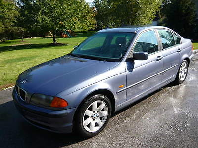 BMW : 3-Series 325i 2001 bmw 325 i sedan 2.5 l il 6 silver blue gray leather every option