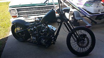 Custom Built Motorcycles : Bobber Custom Bobber Project Bike
