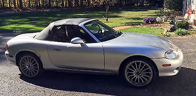 Mazda : MX-5 Miata MX-5 Mazda MX-5 Miata Manual 5 Speed Borla Exhaust AEM Intake Enkei 15-Spoke Wheels