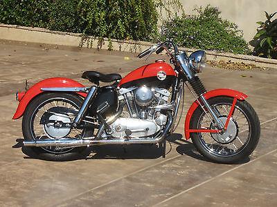 Harley-Davidson : Other 1957 harley davidson xl sportster first year model