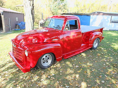 GMC : Other RED 1952 gmc 100 pu