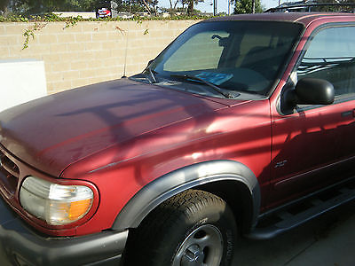 Ford : Explorer XLT Sport Utility 4-Door 1999 ford explorer red low low miles