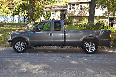 Ford : F-250 XLT 2006 ford f 250 xlt 2 wd 79 800 k miles extended cab 8 foot bed automaticdark gray