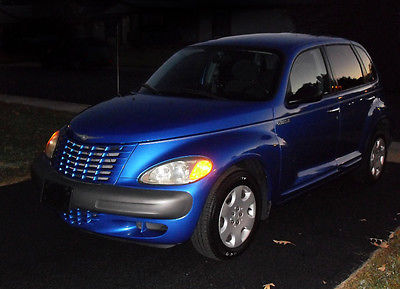 Chrysler : PT Cruiser Base Wagon 4-Door 2003 chrysler pt cruiser electric blue pearl coat fwd