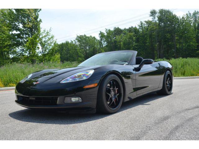 Chevrolet : Corvette Convertible 2006 supercharged corvette convertible 6 spd manual hre wheels 577 hp