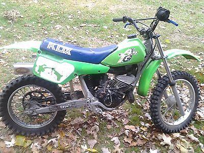 Kawasaki : KDX vintage 1986 Kawasaki kdx80 Dirt bike~motocross