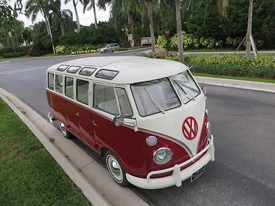 Volkswagen : Bus/Vanagon Bus  1969 vw bus 23 window sunroof