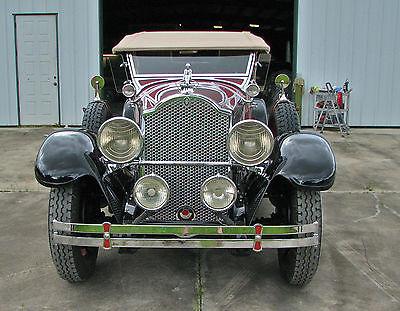 Packard : 640 Phaeton 1929 packard dual cowl phaeton model 640