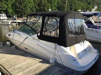 2007 Sea Ray 240 Sundancer with trailer and winter storage