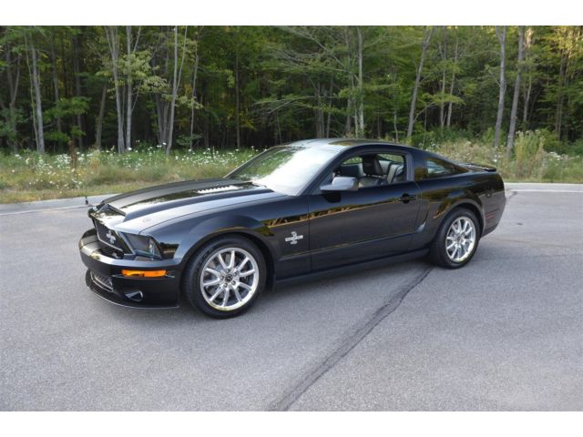 Ford : Mustang GT500 KR 2008 shelby gt 500 kr 329 original miles as new great for collection