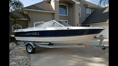 2008 Bayliner 195 Discovery with trailer