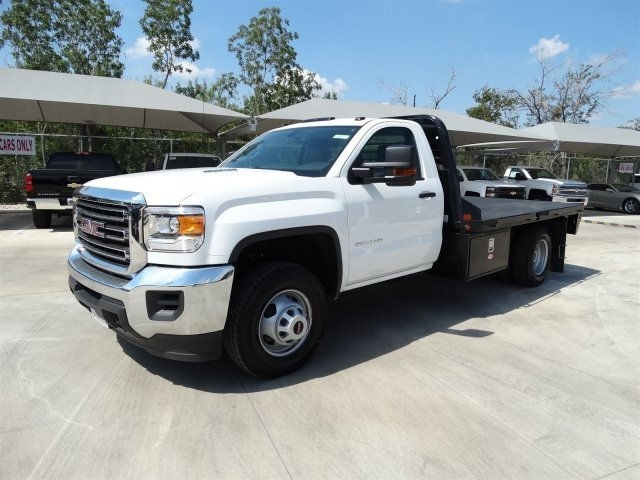 2015 Gmc Sierra 3500 Hd Flatbed Truck