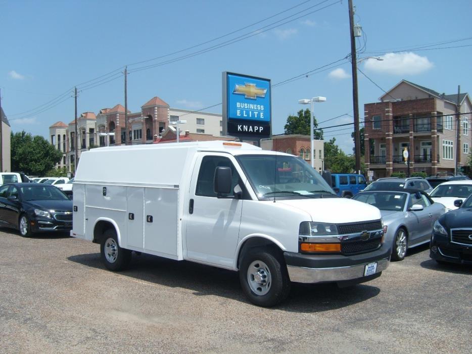 2016 Chevrolet Express 3500  Utility Truck - Service Truck