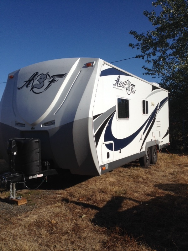Four Season Ready Used Travel Trailers For Sale