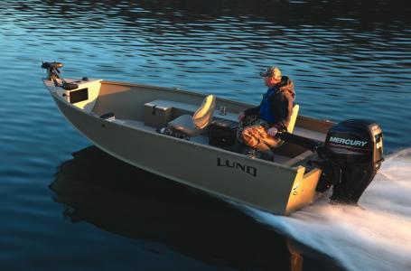 2016 Lund 1800 Alaskan Tiller