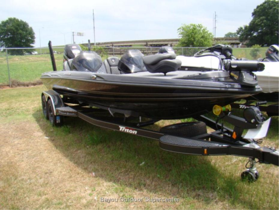2016 TRITON BOATS 21 TRX Patirot (Color Option Eclipse Mist/Carbon Mist-w