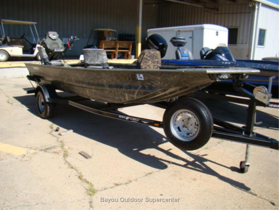 2014 War Eagle 1648 Swamp Life Edition w/Gator Tail GTR 37L EFI