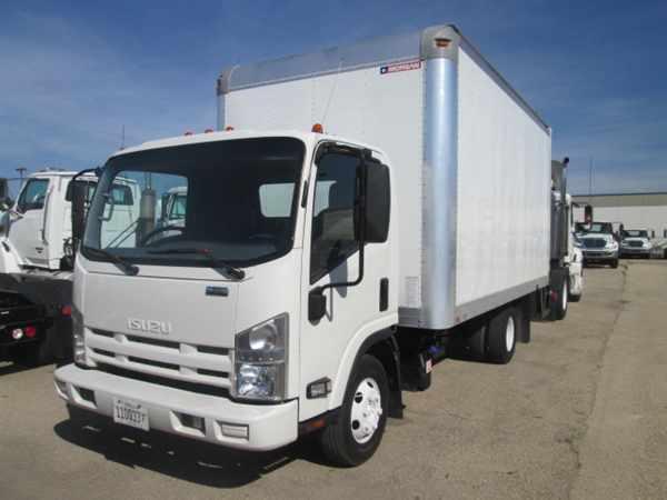 2011 Isuzu Npr Hd Box Truck - Straight Truck