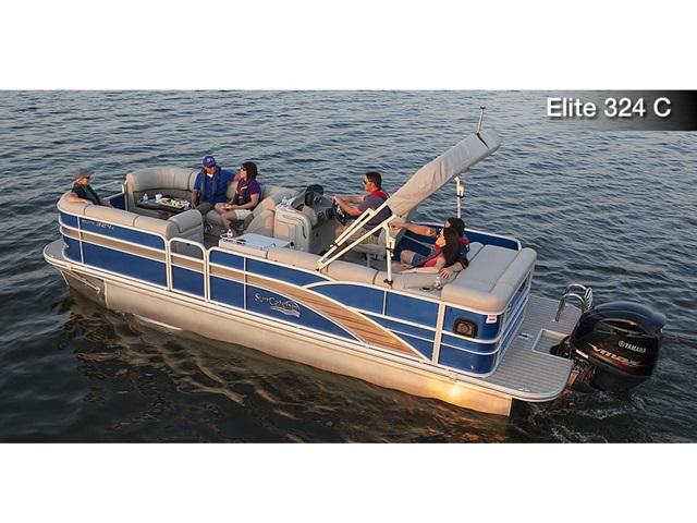 2016 Suncatcher Elite 324 C