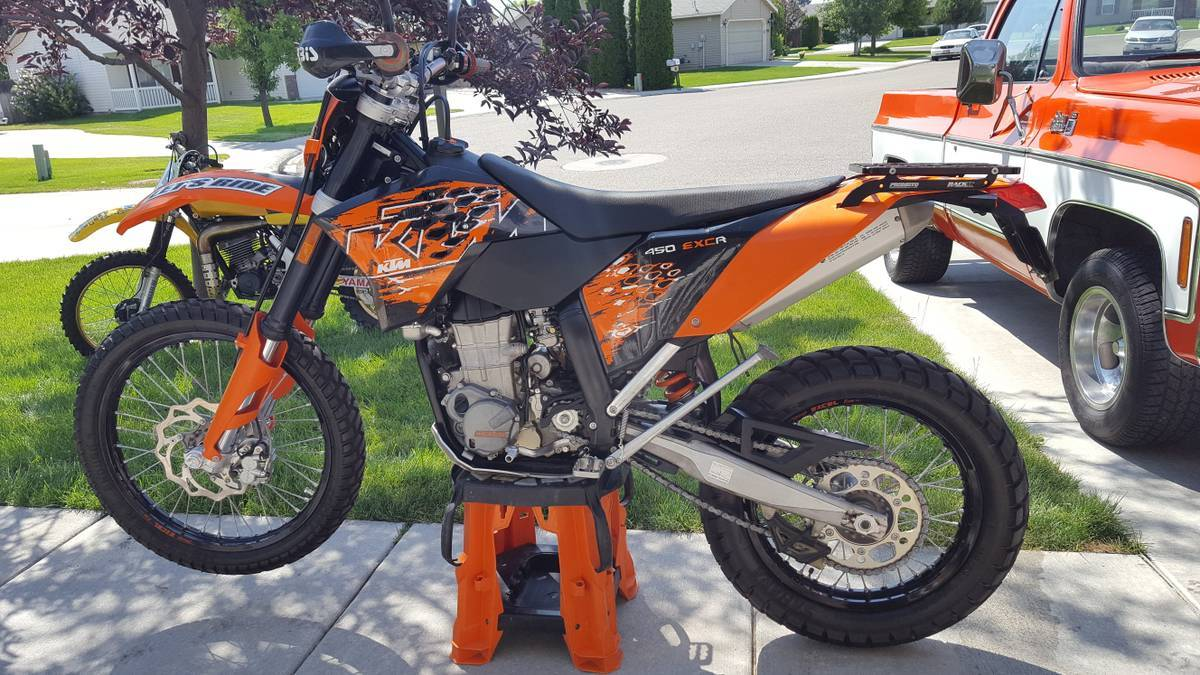 2008 ktm 450 exc motorcycles for sale. Black Bedroom Furniture Sets. Home Design Ideas