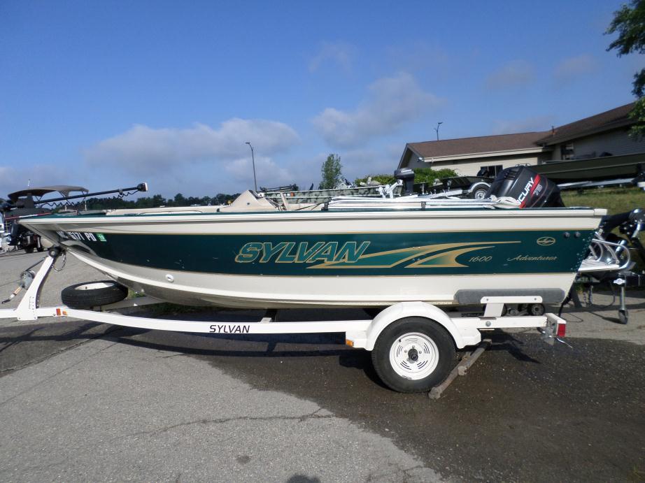 Sylvan 1600 adventurer sc boats for sale in fenton michigan for Sylvan fishing boats